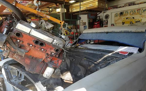 Chevelle 283 to garage sale 496 blueprint small block engine out malvernweather Choice Image