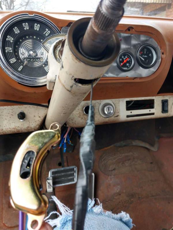 Turn Signal Switch Install In A 54 Belair