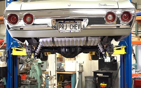 Project Chevelle: Rear Axle Upgrade