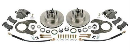 Bolt-on Brake Conversion Kits for 1937-1948 Ford Spindles
