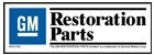 General Motors Restoration Parts Logo