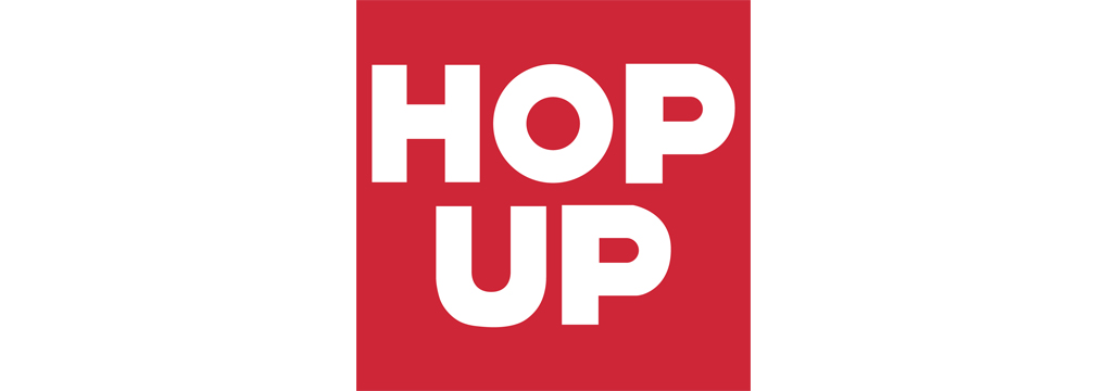 Hop Up Magazine Logo