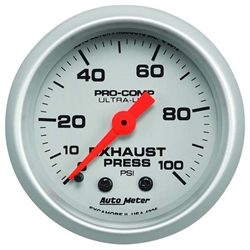 Exhaust Pressure Gauges