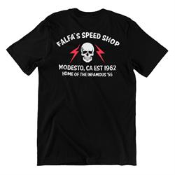 Merchants of Speed 0032B Falfa's Speed Shop T-Shirt
