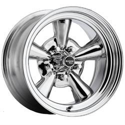 Allied Wheel 6757099R Supreme 15 x 7 Reverse Wheel, 5x4.5/5x4.75/5x5