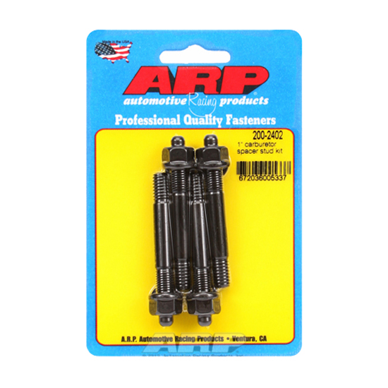 ARP Fasteners 200-2402 Carburetor Mounting Studs For 1 In Spacer