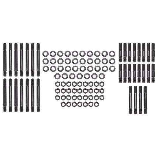 ARP 134-4311 Pro Series Black Oxide 12-Point Cylinder Head Stud Kit for Small Block Chevy with World//Motown Aluminum Block and Stwithard Head