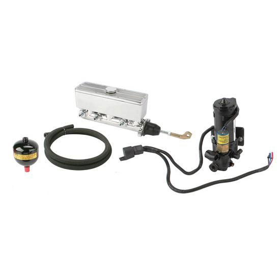 Compact Electric Brake Power Booster Master Cylinder, Disc/Drum