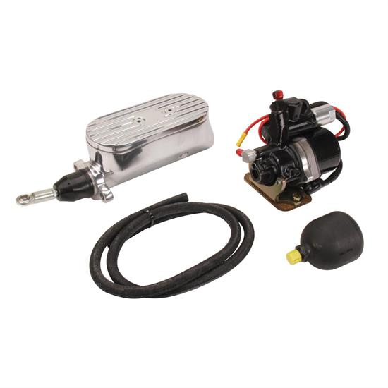 Compact Electric Brake Power Booster Master Cylinder, Disc/Disc