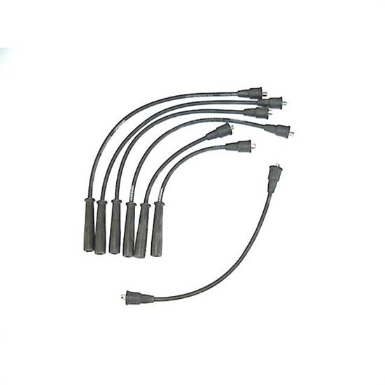ProConnect 106002 Spark Plug Wire Set, Straight Boot, 7 Piece Set