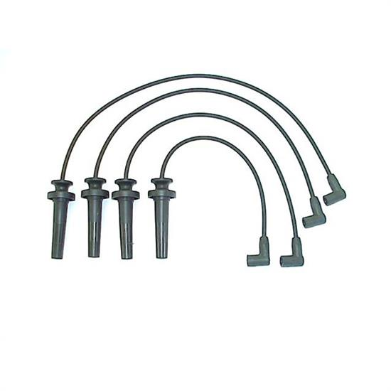 ACCEL 114023 Spark Plug Wire Set, 1991-2002 GM, 4 Piece Set
