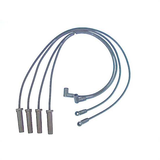 ACCEL 114026 Spark Plug Wire Set, 1992-2003 GM, 4 Piece Set