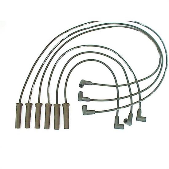 ProConnect 116012 Spark Plug Wire Set, 1987-1989 GM, 6 Piece Set