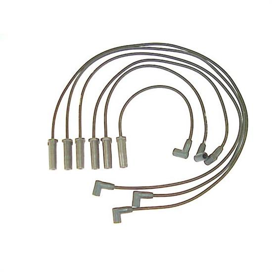 ACCEL 116065 Spark Plug Wire Set, 2001-2005 GM, 6 Piece Set