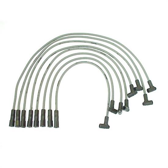 ACCEL 118042 Spark Plug Wire Set, 1973-1976 GM, 8 Piece Set