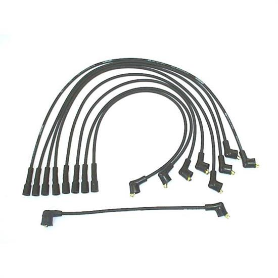 ProConnect 118071 Spark Plug Wire Set, 1960-1974 GM, 9 Piece Set
