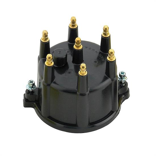 ACCEL 120330 Distributor Cap, Jeep 4.0L, Male, HEI Style, Black