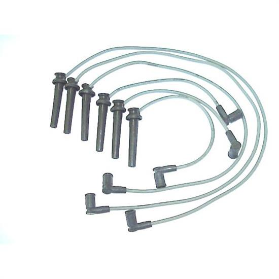 ProConnect 126041 Spark Plug Wire Set, 2000-02 Ford, 6 Piece Set