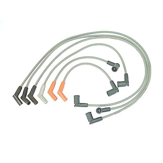 ProConnect 126049 Spark Plug Wire Set, 2004-06 Fprd, 6 Piece Set