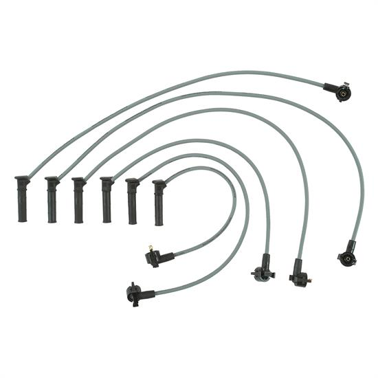 ProConnect 126055 Spark Plug Wire Set, 2005-10 Ford, 6 Piece Set