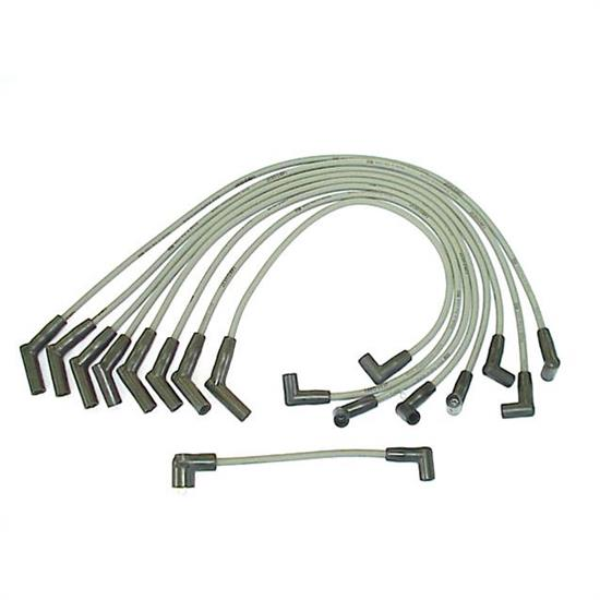 ProConnect 128003 Spark Plug Wire Set, 1977-90 Ford, 9 Piece Set