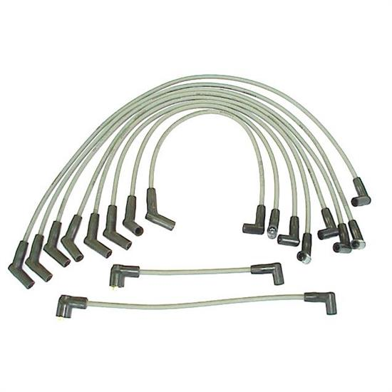 ProConnect 128006 Spark Plug Wire Set, 1984-91 Ford, 10 Piece Set