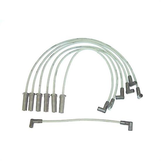 ACCEL 136007 Spark Plug Wire Set, 1984-1986 Chrysler, 7 Piece Set