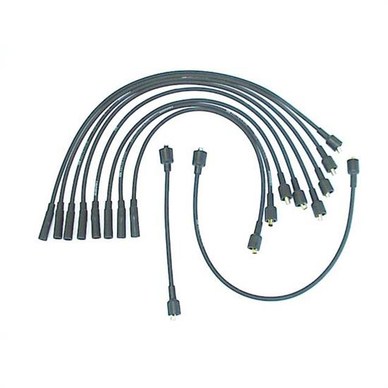 ACCEL 138001 Spark Plug Wire Set, 1979-1988 Chrysler, 10 Piece Set