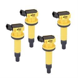 ACCEL 140073-4 Ignition Coil, SuperCoil, Toyota 1.8L-I4, 4-Pack