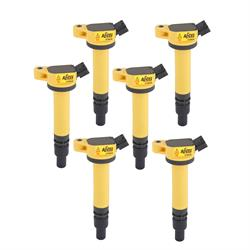 ACCEL 140630-6 Ignition Coils, SuperCoil, Toyota, V6/V8, 6-Pack