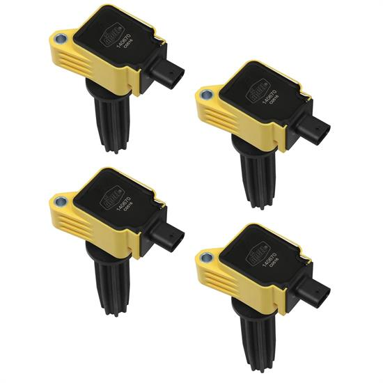 ACCEL 140670-4 Ignition Coil, SuperCoil, Ford EcoBoost 2.0L/2.3L-L4Speedway Motors