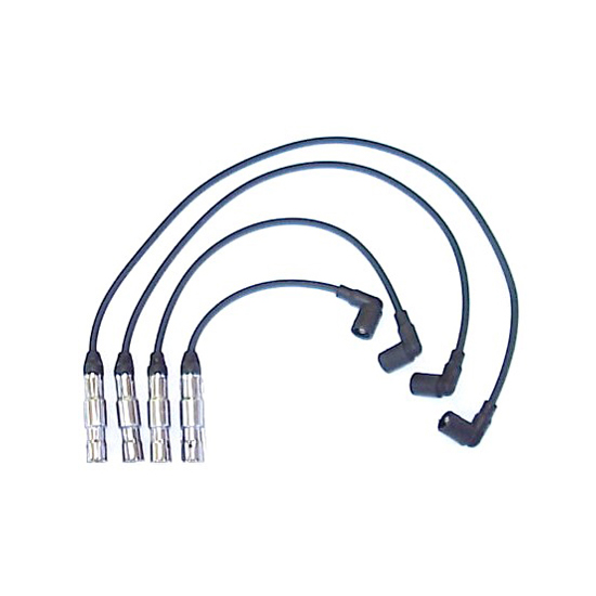 ProConnect 144054 Spark Plug Wire Set, 2001-2007 VW, 4 Piece Set