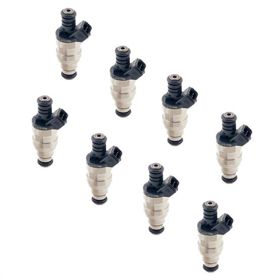 ACCEL 150836 Fuel Injectors, 36 lb/hr, High Impedance, 8 Pack