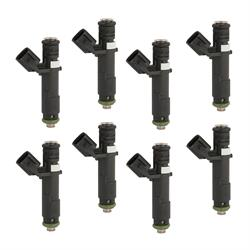 ACCEL 151845 Fuel Injector, LS/UNV 45 lb/hr, High Impedance, 8 pack