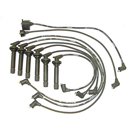 ACCEL 166002 Spark Plug Wire Set, 45 Degree Wire, 6 Piece Set