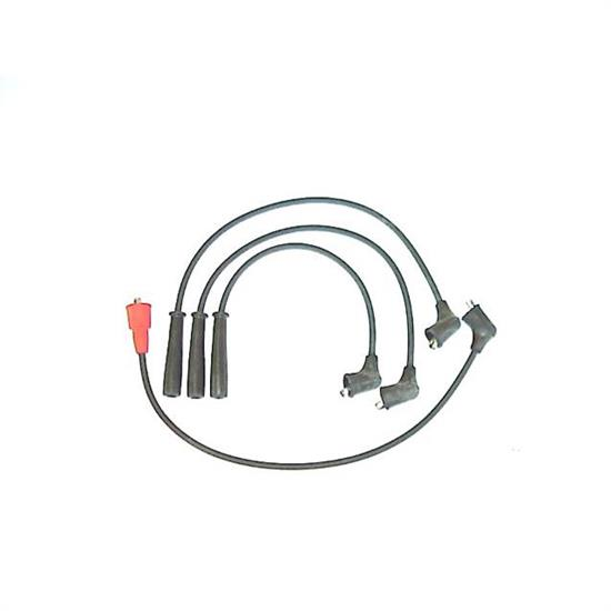 ProConnect 183002 Spark Plug Wire Set, 87-91 Subaru, 4 Piece Set