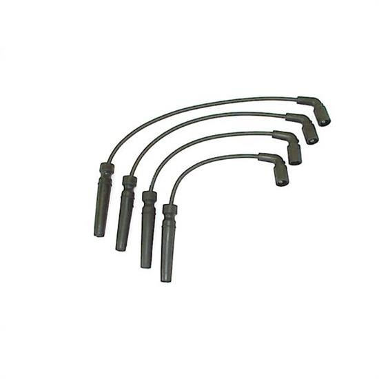 ProConnect 184061 Spark Plug Wire Set, Straight Boot, 4 Piece Set