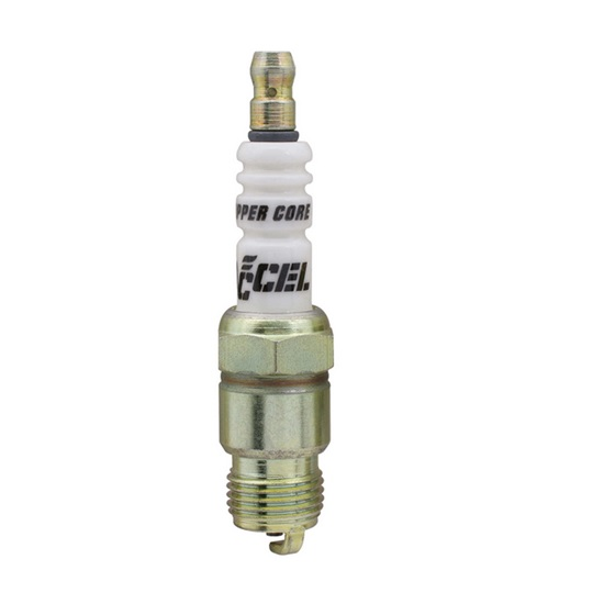 "Accel 0566-4 14mm Spark Plug 5/8"" Hex 0.460 Reach Tapered Seat"