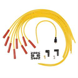 ACCEL 4040 Spark Plug Wire Set, 8mm, Super Stock, Yellow/Orange