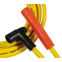 ACCEL 4071 Spark Plug Wire Set, Super Stock, 8mm, Chevy 454, Yellow