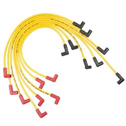 ACCEL 5048Y Super Stock Ferro-Sprical Race Wire Set, 8MM, Yellow