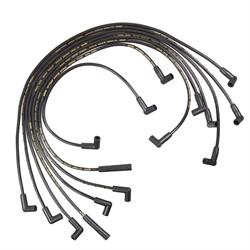 ACCEL 5049K Super Stock Ferro-Sprical Race Wire Set, 8MM, Black