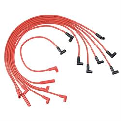 ACCEL 5049R Spark Plug Wire Set, Super Stock Spiral 8mm, 1978-86 GM V8