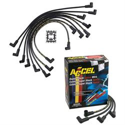 Accel 8mm Spark Plug Wires Sets, HEI Corrected
