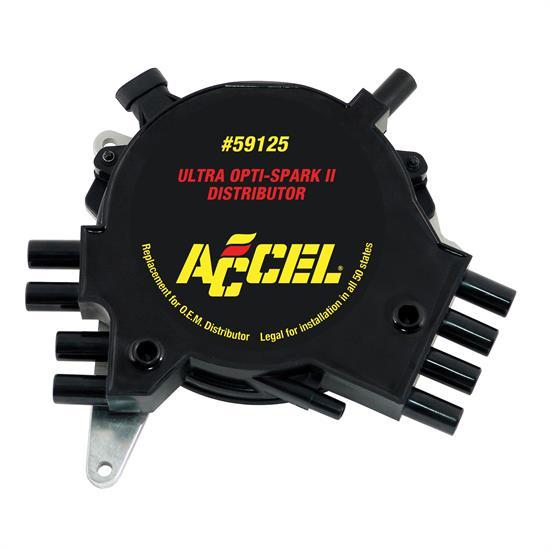 Lt1 Gm Optispark Gear Drive: ACCEL 59125 GM Opti-Spark II Distributor, GM V8 5.7L LT1/LT4