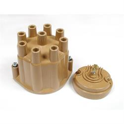 ACCEL 8120ACC Distributor Cap & Rotor Kit, Female Socket Style, Tan