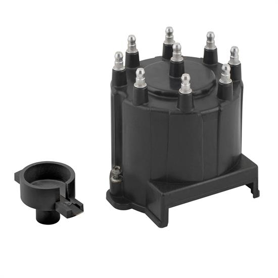 ACCEL 8139 Distributor Cap & Rotor Kit, HEI Style, Black