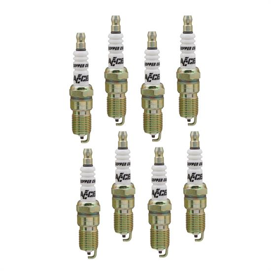 ACCEL 8196 Spark Plug, 14mm Thread, .708 In, 8 Pack