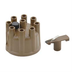 ACCEL 8320 Distributor Cap & Rotor, Socket Style, Tan
