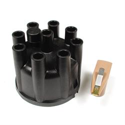 ACCEL 8321 Distributor Cap & Rotor Kit, Socket Style, Black